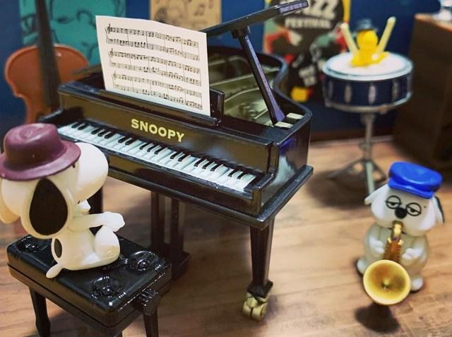 【超名店】外出できないので自宅に「ジャズ喫茶」をオープンしたら最高だった! リーメント『スヌーピー リトルジャズカフェ』