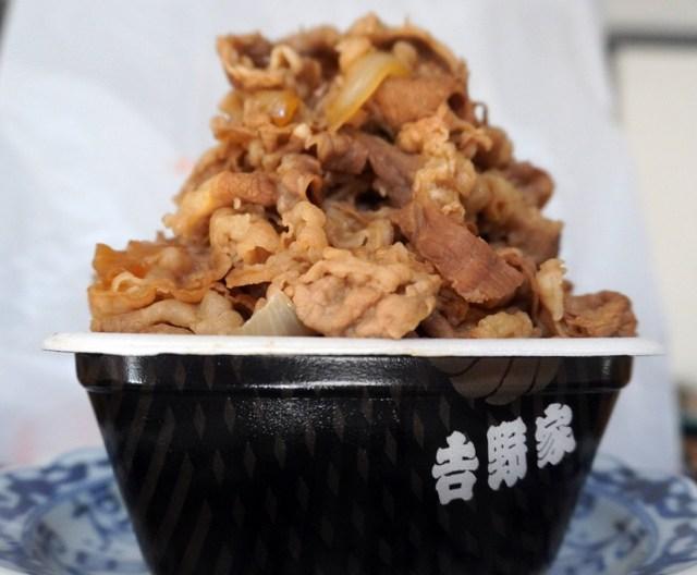 吉野家の「肉だくだくだくだくだくだくだくだくだくだく牛丼」が予想以上に最高だった
