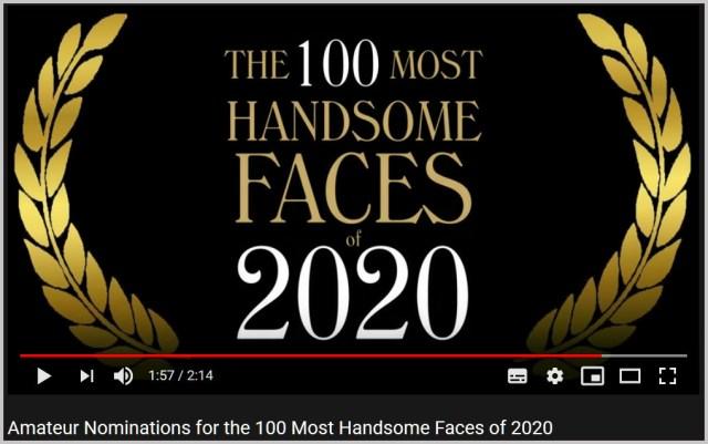 『世界で最も美しい顔ベスト100人』がアマチュアの応募を開始! その条件はコレだ!!