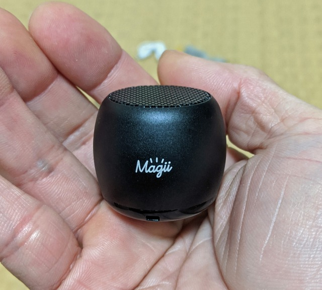 世界最小クラスのワイヤレススピーカー「Magii(マギー)」を使ってみた / 小粒と侮った自分がバカだった……