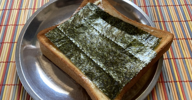 【カーチャンが昔よく食べてた謎の料理】第1回:のりマヨトースト