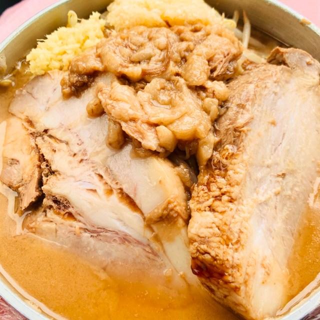 【検証】伸びにくいと豪語する「超ごわ麺」使用のラーメンを鍋で持ち帰り1時間放置した結果