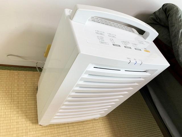 36畳対応の空気清浄機を「6畳の部屋」で使った結果 → 科学力スゲェェェエエエ!
