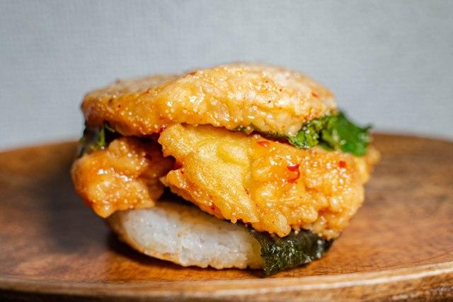 【美味い】モスの新作ライスバーガーが、天丼の一番良いところだけを抽出したような出来で最高だった
