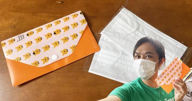 【100均検証】やっと前から欲しかったダイソーの「マスクケース」が手に入った! しかもマスク2枚付き!!
