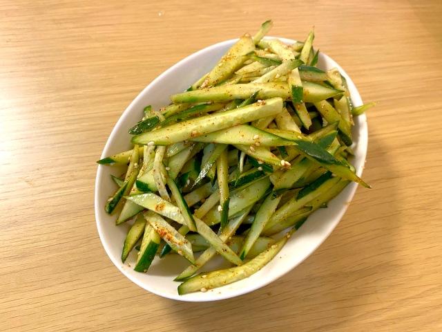 【最強レシピ】我が家に伝わる そうめんの薬味「きゅうりのヤツ」の作り方