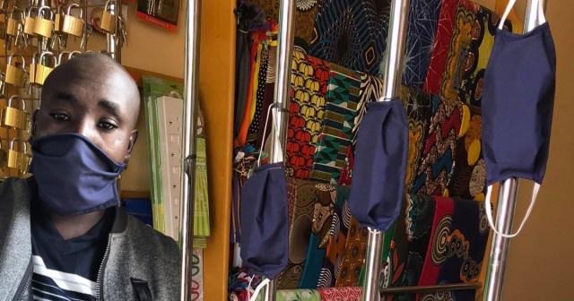 これがケニアの田舎町で売っている布マスク(約49円)だ! マサイ通信:第371回