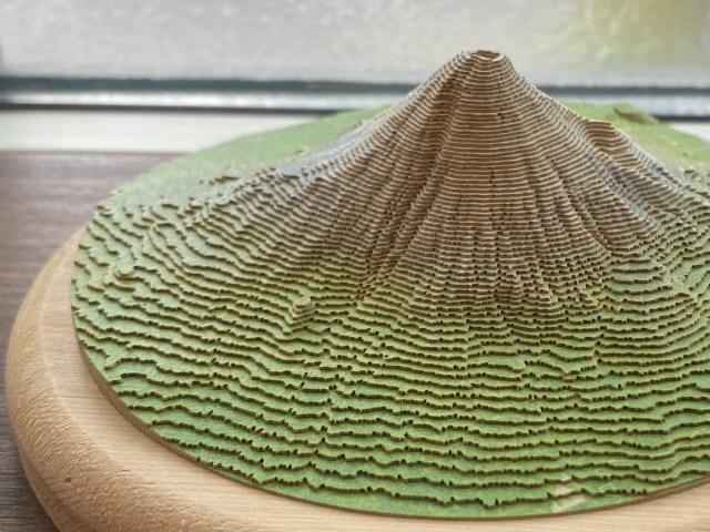 山にまったく興味はないが富士山の山岳模型を作ってみたら……誰もが山好きになるかもしれない癒しのキット「やまつみ」