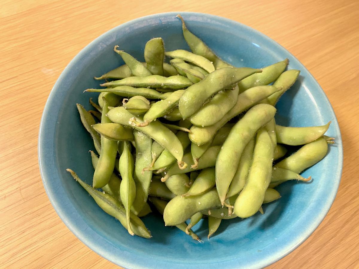 水 枝豆 から 時間 茹で