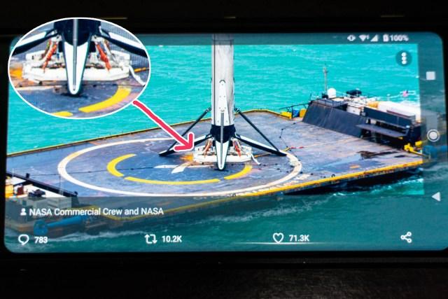なぜSpace XのFalcon 9(自動で垂直着陸したロケット)は 揺れる船上でも倒れないのか