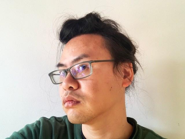【ロックの日】ロックンローラー直伝! 一瞬でできるリーゼント・ポンパドール風の「髪の結び方」をやってみた!!