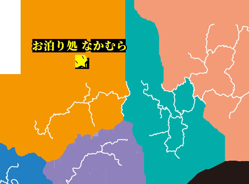 「お泊り処 なかむら」(島根)の位置