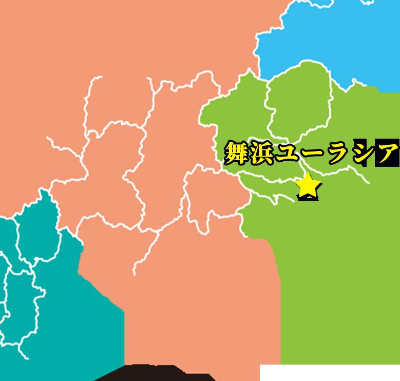 「舞浜ユーラシア」(千葉)の位置