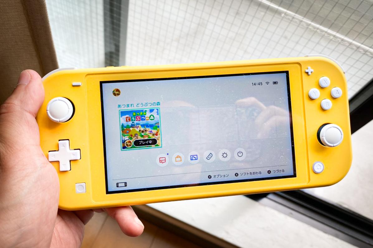 「Nintendo Switch Lite」商品写真