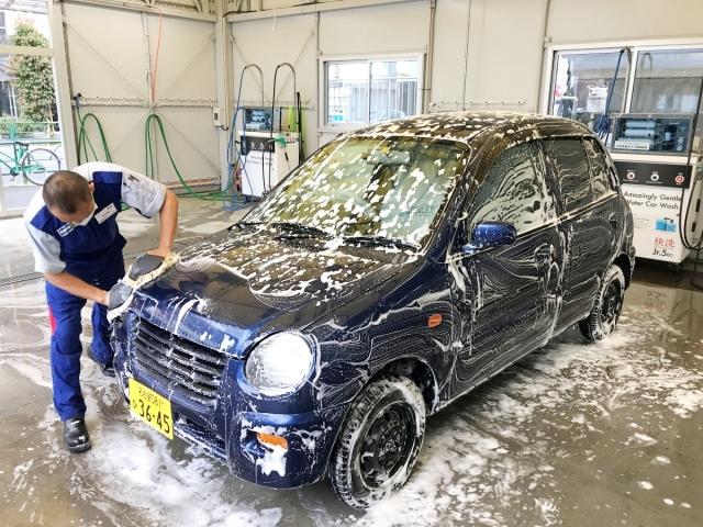 【感動】廃車寸前の中古車をプロに「コーティング加工」してもらった結果…ほぼ新車みたいになった! 雨が降っても洗車代わりになるぞ!!
