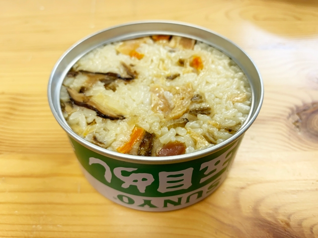 【弁当缶詰】ご飯がふっくら激ウマの保存食! サンヨー堂の「五目めし」が非常食にしておくには惜しいレベル