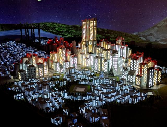 【エヴァ】第3新東京市の住民になれる! 街やエヴァの格納庫に、自分のフィギュアを1年間置くことができるぞ~!! SMALL WORLDS TOKYO