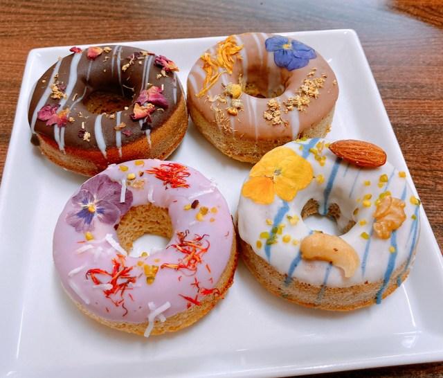 【通販あり】お花の焼きドーナツ専門店「gmgm(グムグム)」のドーナツがとってもカワイイ! 愛らしいだけでなくめっちゃヘルシー