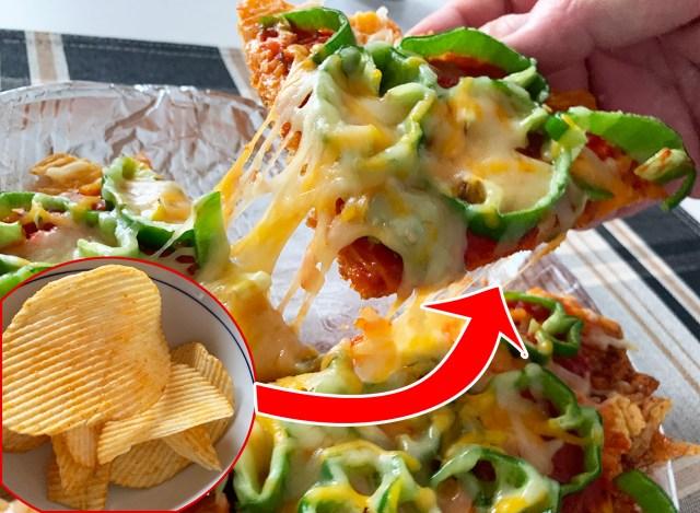 ファミマ限定のピリ辛『ポテトチップス花椒味』でピザを作ったらマンマミーア! 辛ウメーNA!! 刺激的な出会いに溺れるひと夏のピザ