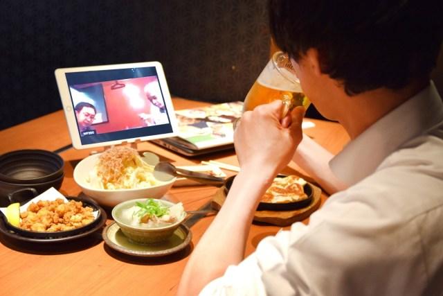 【斬新】居酒屋「甘太郎」、まさかの『リモート飲み専用席』を東京・大阪に導入! 家でやれ!! 本日7月8日スタート