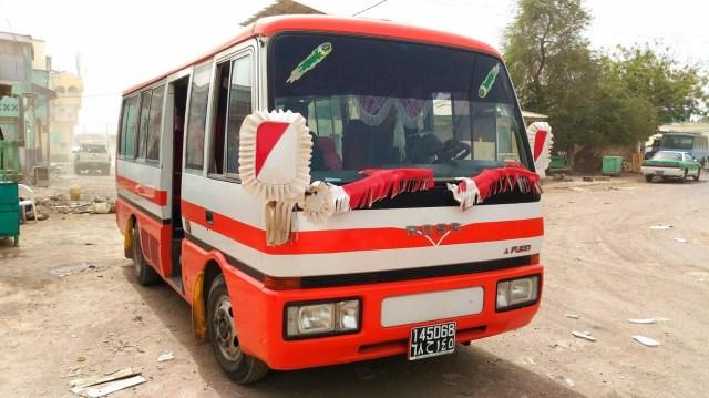 会社から全社員解雇が通知された日に50℃の熱風が吹き荒れるアフリカの「アッサル湖」に1人でバスを貸し切って行った話