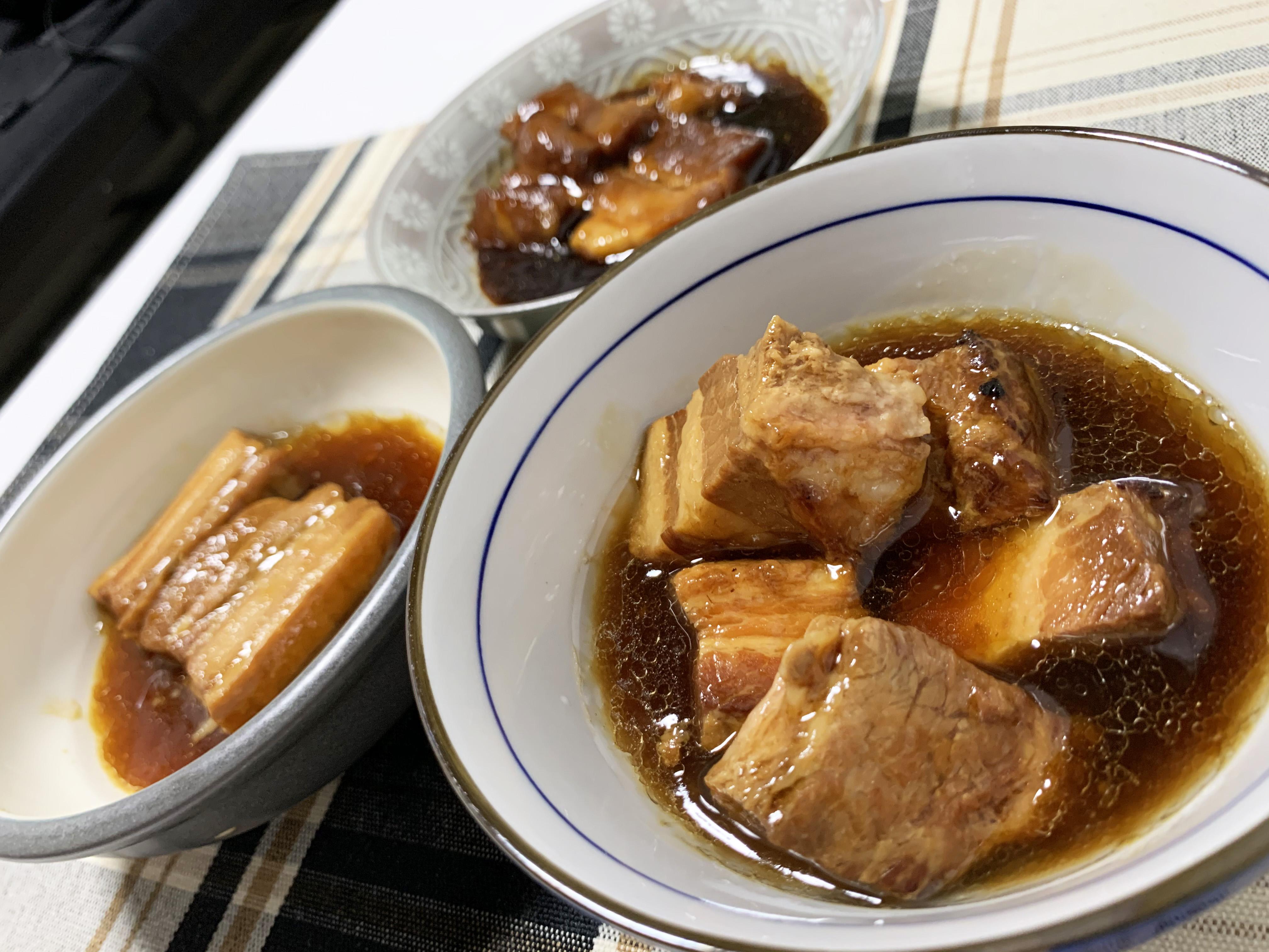 ローソン、ファミマ、セブンの「豚角煮」を食べ比べてみたら最強の肉発見! コラーゲンたっぷりで激ウマだったのがコレだ!!