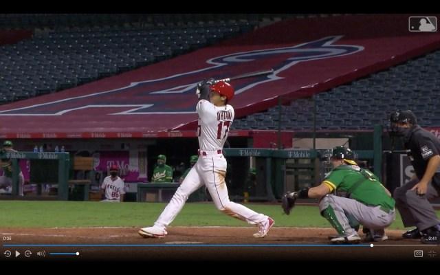【動画あり】大谷翔平選手が第4号ホームラン! 甘いボールを確実に仕留めて貴重な同点弾を放つ