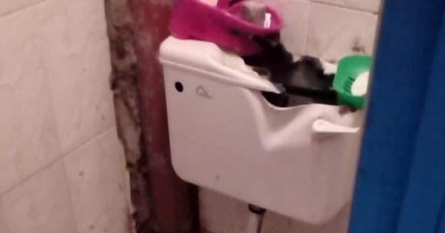 「いったい何が起きたらこんな壊れ方するんだよ…ってトイレ」の所有者に、詳しく事情を聞いてみた / カンバ通信:第26回