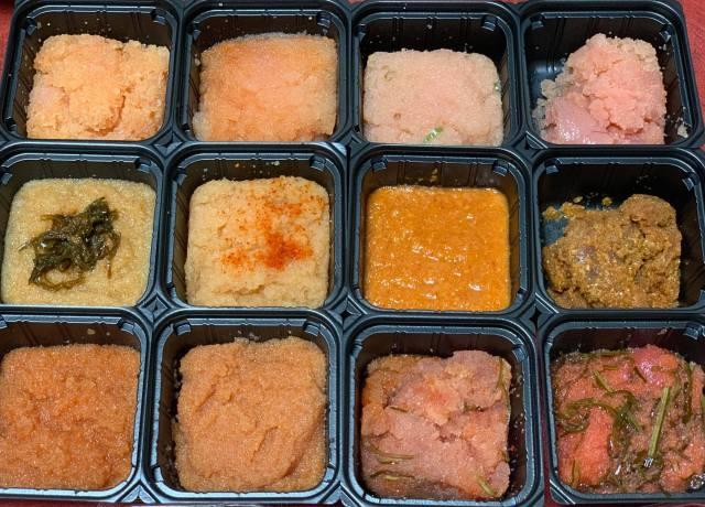 【幸せ】博多明太子の食べ比べができるばい! しかも12種類だとぉぉぉぉー!?