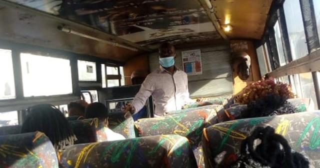 ケニアのバスはマスクをしてないと乗せてくれない / カンバ通信:第29回