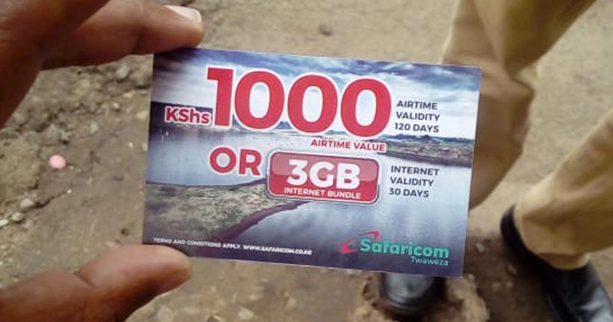 ケニアの人々のケータイ代はいくらくらい? カンバ通信:第31回