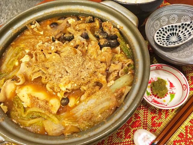 味噌鍋「羽鳥ちゃんこ」