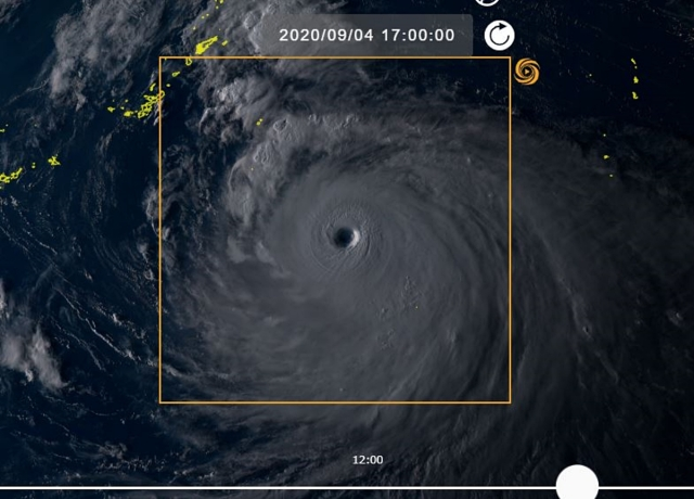 【最強クラス】九州接近中の「台風10号」を宇宙から見た画像がヤバイ…! 地球に穴が開いたのかと錯覚するレベル