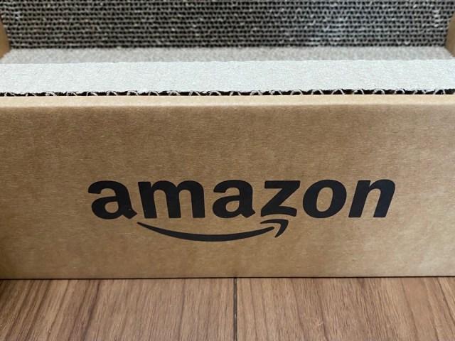 AmazonでAmazonの箱を買ってみた / 猫はせっかく買った猫グッズよりも梱包のダンボール箱を100%気に入る説
