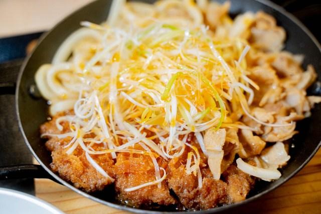 かつや『豚すき煮肉うどんチキンカツ』はもっと王道として評価されて良い / うどんと豚と鶏のトリニティ