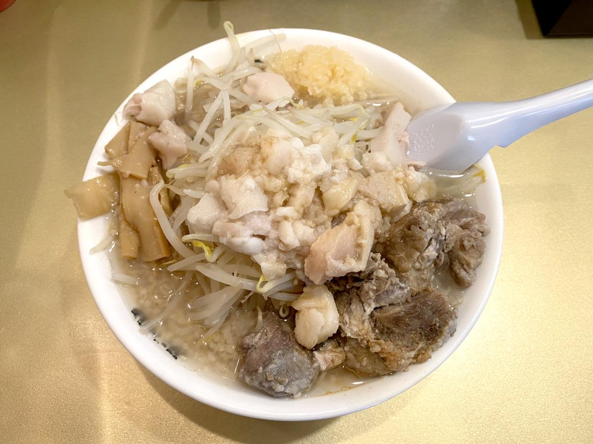 鬼滅の背脂「タン二郎」を食べてみた結果 → 脂の呼吸に震えた / 超ごってり麺ごっつ秋葉原店
