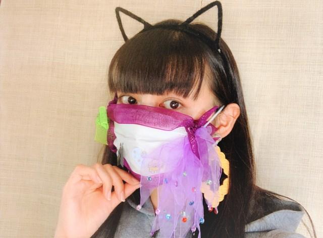 USJがマスクコスプレ選手権を開催 → 100均で購入したアイテムを使用してマスクをデコってみた!! / 前向きな企画でとっても良き…!