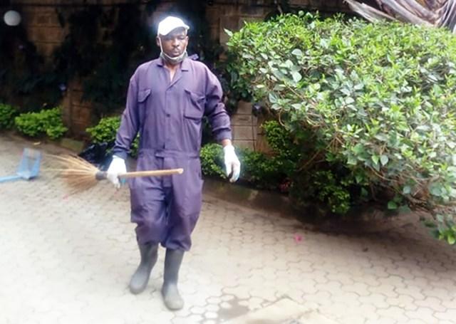 この道30年、ケニアの「ホテル専門の庭師」に給料や夢を聞いてみた / カンバ通信:第42回