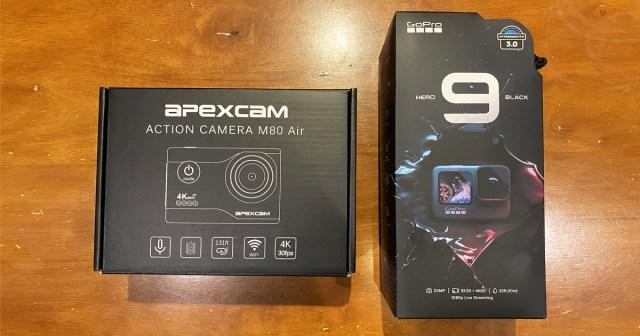 4980円の激安アクションカメラ『Apexcam』と最新の『GoPro HERO9 Black』を比べてみたら、忘れていた何かを思い出した