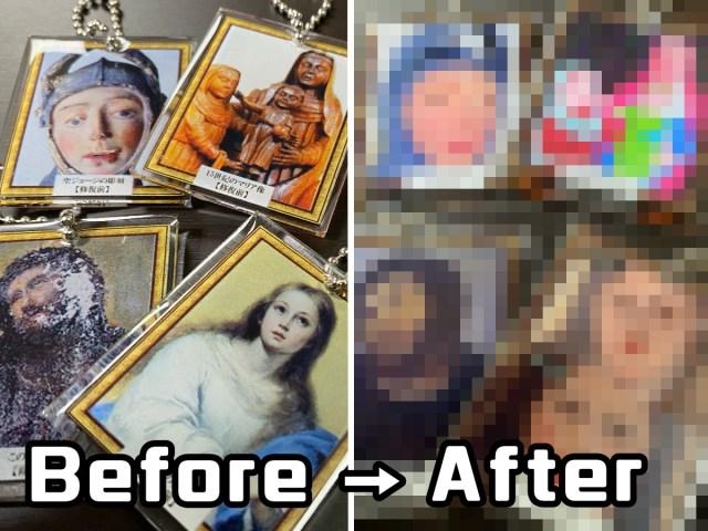 【ガチャガチャ】いらんだろ! 「修復に失敗した美術品」のキーホルダー爆誕