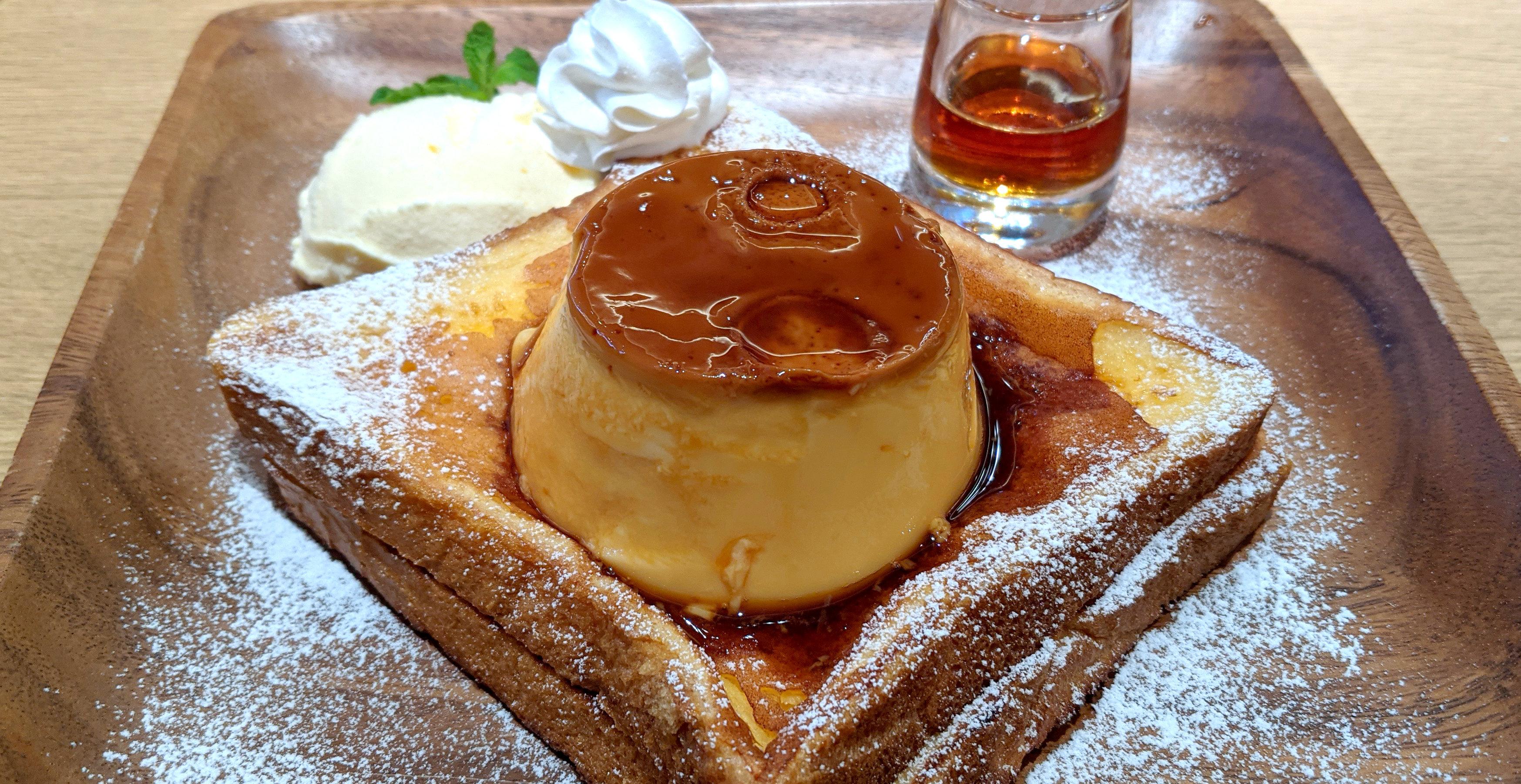 【スイーツ】カラオケまねきねこグループのカフェで提供している「プリンフレンチトースト」が美味すぎる! 東京・大久保