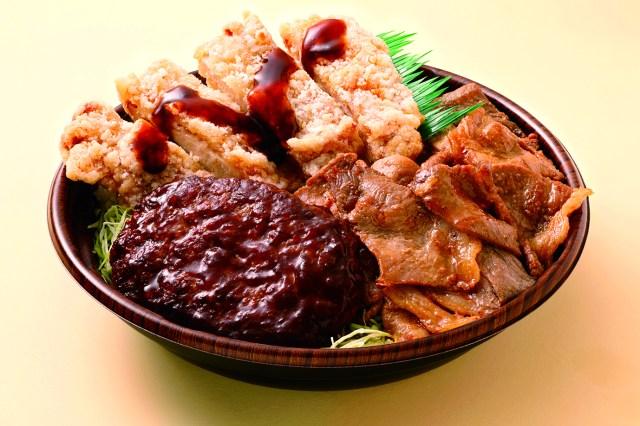 【悲報】オリジン弁当、いい肉の日にハッチャけすぎてしまう / 丼1つで1394kcalの「肉トリプル丼」が中学生男子の妄想レベル