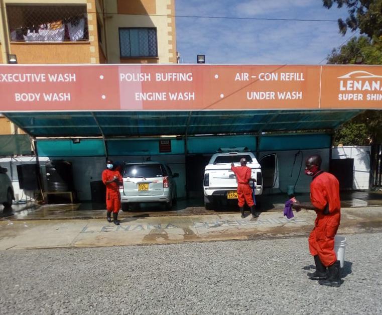 ビビりながら「ケニア・ナイロビのハイクラスな人々が使う超高級な洗車場」に行ってみた! カンバ通信:第48回