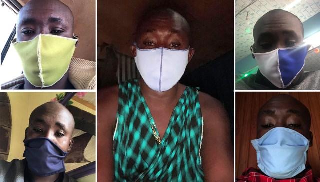 オシャレで有名なマサイ族の戦士は5枚のマスクでコーデを楽しむ / マサイ通信:第438回