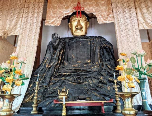 まるで「ゆるキャラ」のようなオーラを漂わせる『有福大仏』を参拝してきた / 島根県江津市
