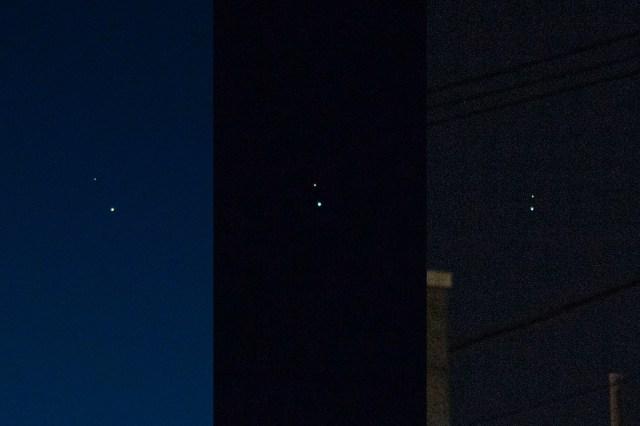 今夜、木星と土星が約400年ぶりに大接近(観測しやすさ的には約800年ぶり)