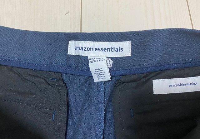 【1万3000レビュー】Amazon Essentialsが販売する激安チノパンの高評価率がエグいので購入してみたら…