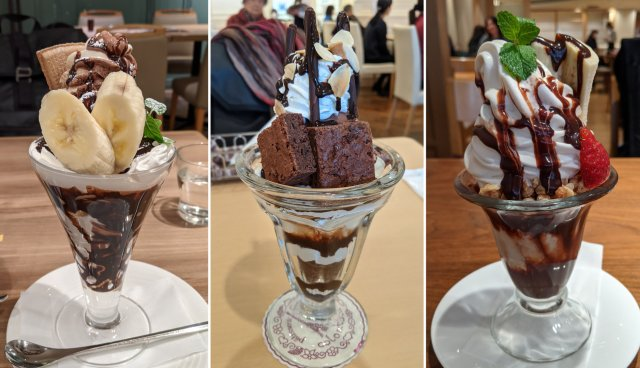新宿の百貨店「伊勢丹」「京王百貨店」「小田急百貨店」のチョコレートパフェを徹底比較! ナンバー1はココだ!!