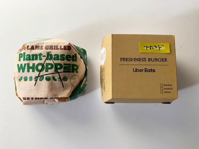 大豆パティバーガー食べ比べ! バーガーキング『アボカドプラントワッパー』vs フレッシュネス『ザ・グッドバーガー(アボカド)』