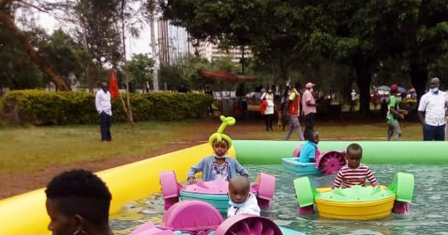 まるで遊園地! 子供が週一で行きたいとお願いしてくるナイロビの公園「ウフルパーク(UHURU PARK)」がコレだ! カンバ通信:第67回
